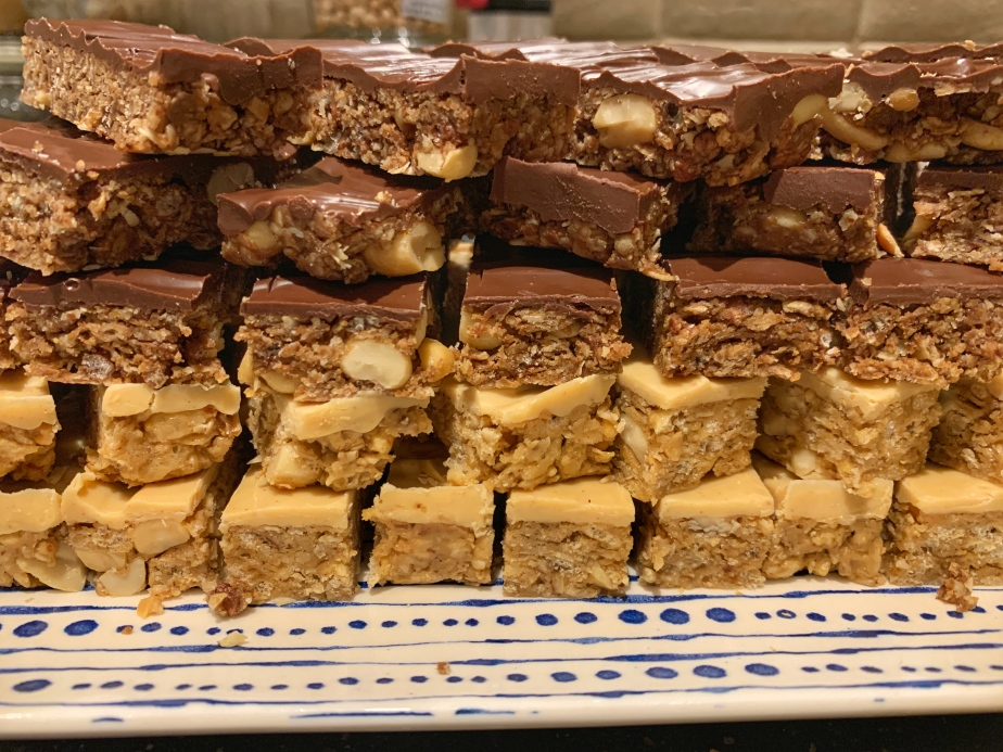 Sweet & Salty Peanut Butter Bars