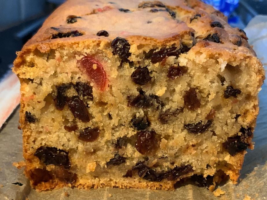 Plant-based Fruit Cake